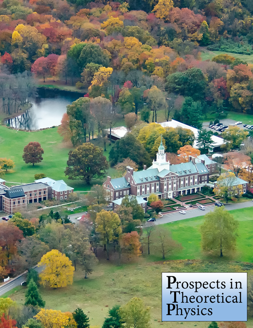 Prospects in Theoretical Physics 2015-Princeton Summer School on